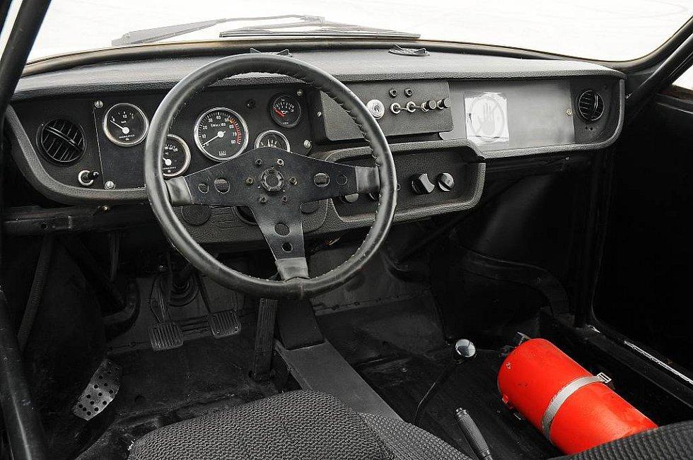 Škoda 130 RS, okruhové provedení.