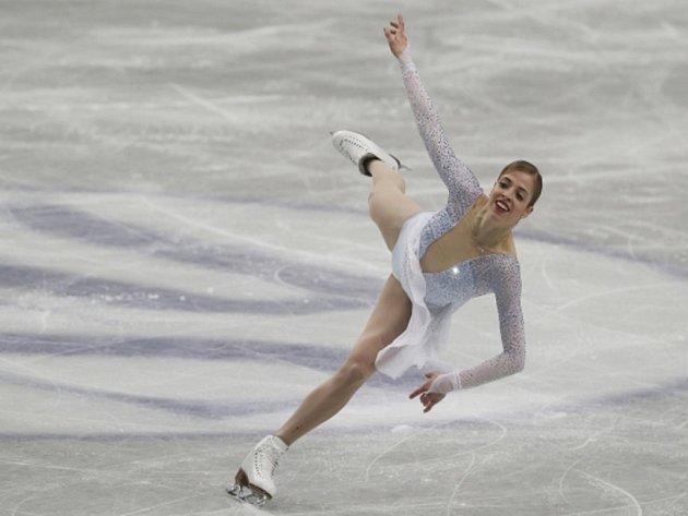 Carolina Kostnerová na mistrovství světa.