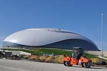 Ve Velkém ledním stadionu se na OH v Soči odehrají hokejové zápasy.