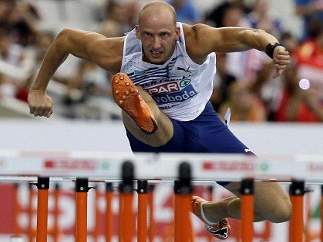 Překážkář Petr Svoboda na ME v Barceloně medaili nevybojoval.