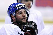 Hokejový útočník Josef Straka.