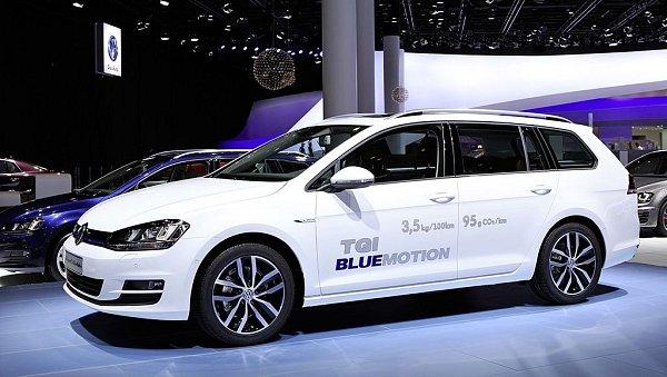 Volkswagen Golf Variant TGI BlueMotion.