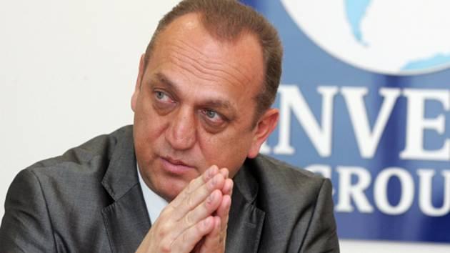 Fotbalový agent Pavel Zíka.