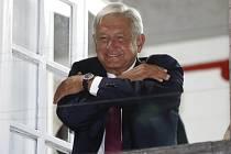 Lopez Obrador slaví vítězství