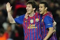 Pětigólový král Lionel Messi.
