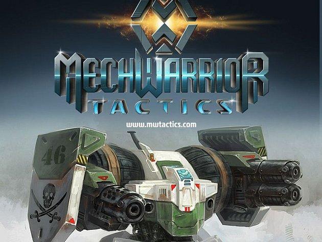 Počítačová hra MechWarrior Tactics.