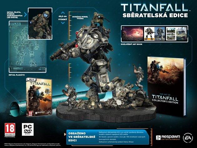 Počítačová hra Titanfall - sběratelská edice.