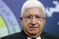 Irácký prezident Fuád Masúm.
