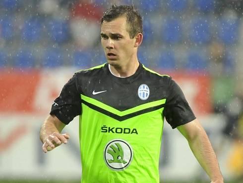 Stanislav Klobása v dresu Mladé Boleslavi