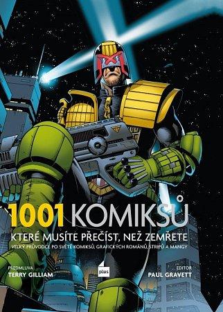 """Vychází 1001komiksů,  skutečný """"světový kanón"""" komiksu"""