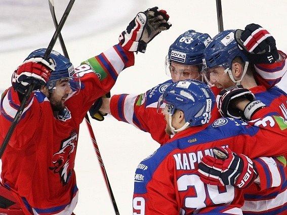 Hokejisté Lva jsou ve finále KHL, v semifinále vyřadili Jaroslavl