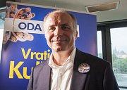 Tisková konference strany ODA + představení kandidáta na prezidenta Vratislava Kulhánka, 29.6.2017