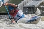 Jiří Prskavec na ME ve vodním slalomu.