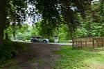 Rally Bohemia, pátý závod seriálu Mistrovství České republiky v rally, pokračovala 2. července. Na snímku Karel Trojan a spolujezdec Petr Chlup s vozem Škoda Fabia R5 na deváté rychlostní zkoušce - Radostín.
