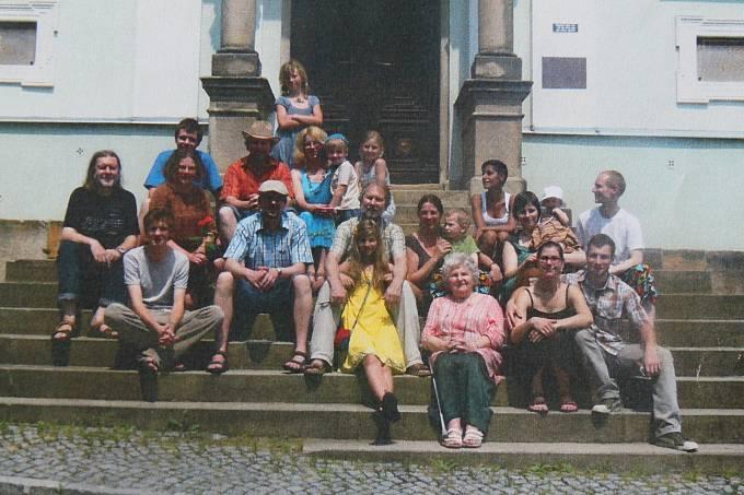 Rodina Žárských v roce 2013