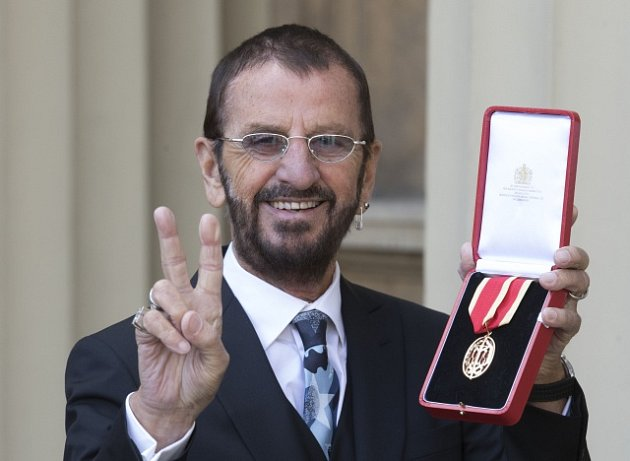 Sir Richard Starkey alias Ringo Starr