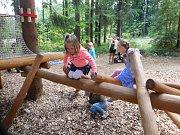 Stezka korunami stromů Krkonoše: dětské hřiště