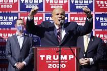 Rudy Giuliani, právník amerického prezidenta Donalda Trumpa