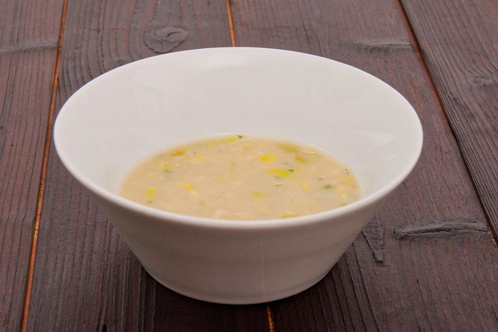 Zeleninová polévka s droždím