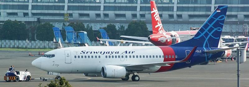 Letos v lednu se do Jávského moře zřítil Boeing 737-524 na pravidelném letu Sriwijaya Air 182. Ztracené letadlo v prosinci 2017