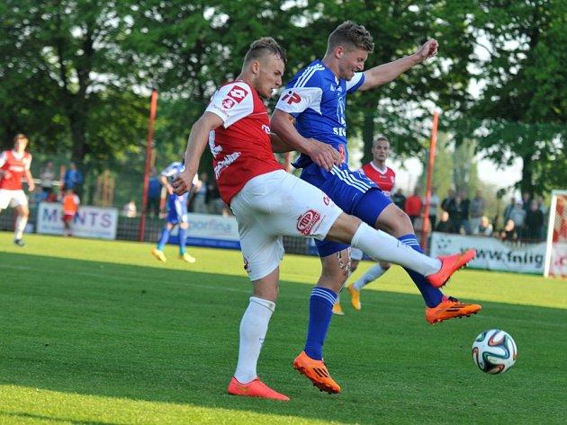 Olomouc vyhrála v Pardubicích 2:1