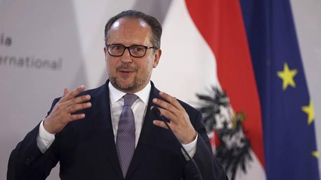 Rakouský ministr zahraničí Alexander Schallenberg.
