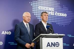 Jaroslav Faltýnek a Andrej Babiš