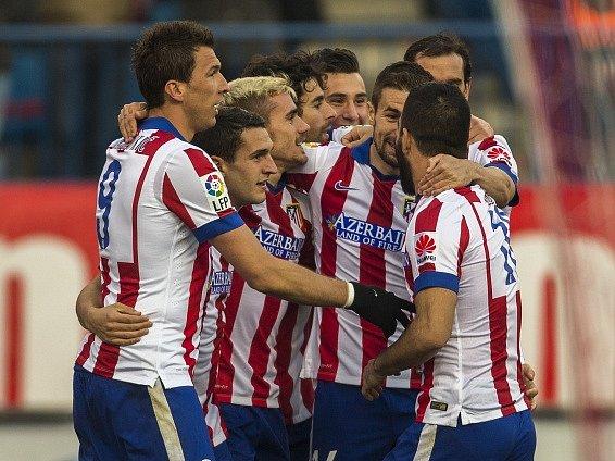 Fotbalisté Atlética Madrid zdolali Levante
