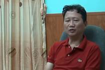 Unesený Trinh Xuan Thanh ve vietnamské televizi