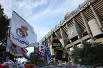 Fotbalový stadion Santiago Bernabéu.