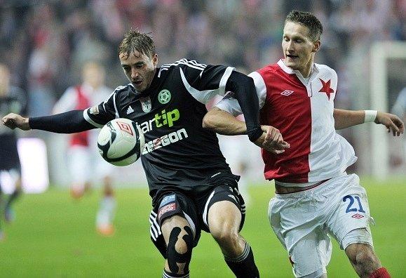 Milan Mišun zPříbrami (vlevo) a Milan Škoda ze Slavie.