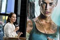 Nová představitelka Lary Croft herečka Alicia Vikanderová.