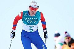 Barbora Havlíčková ve volné desítce na olympijských hrách v Pchjongčchangu.