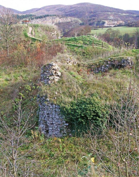 hradiště Tetín