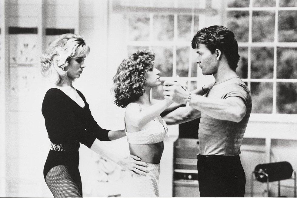 Patrick Swayze a Jennifer Greyová ve filmu Hříšný tanec (1987)