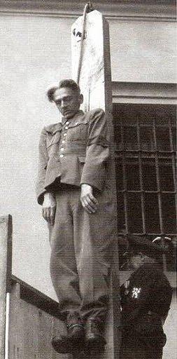 Veřejná poprava K. H. Franka na Pankráci