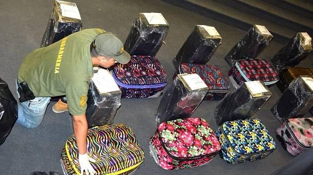 Kokain zajištěný na ruské ambasádě v Argentině
