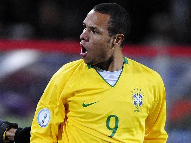 Brazilský fotbalista Luis Fabiano.