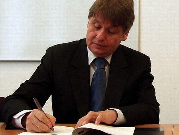 Náměstek jihomoravského hejtmana Milan Venclík