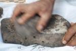 Zbytky chleba nalezené v Jordánsku