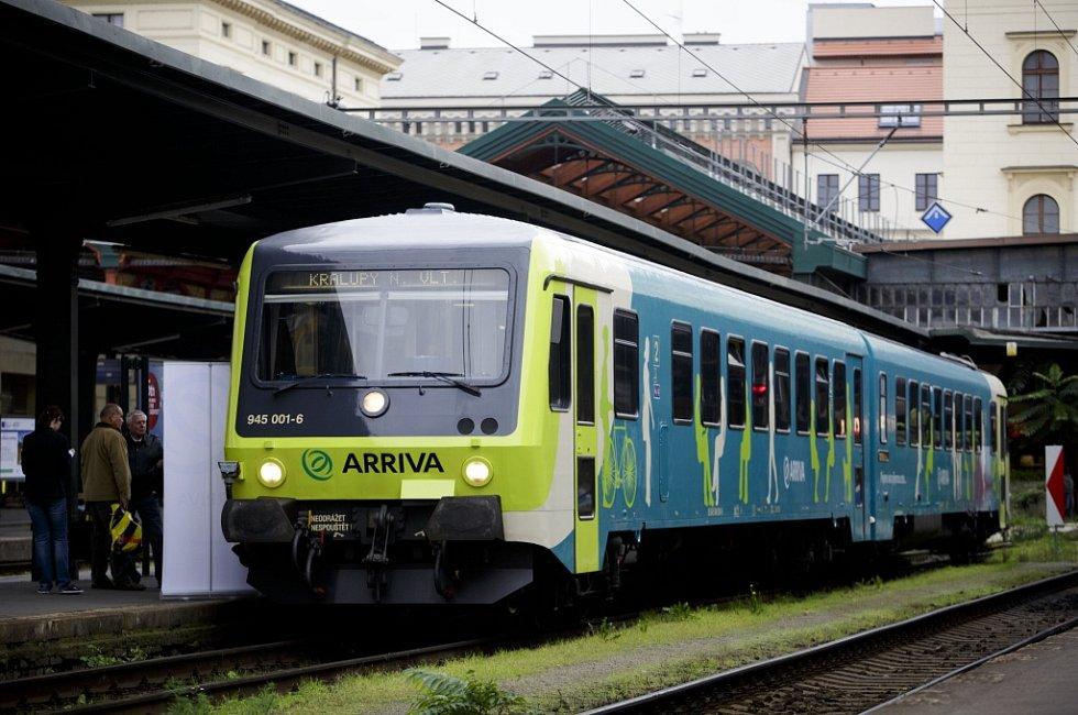 Společnost Arriva vlaky
