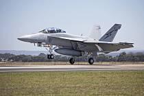 Stíhačka F/A-18F Super Hornet ve službách australského letectva