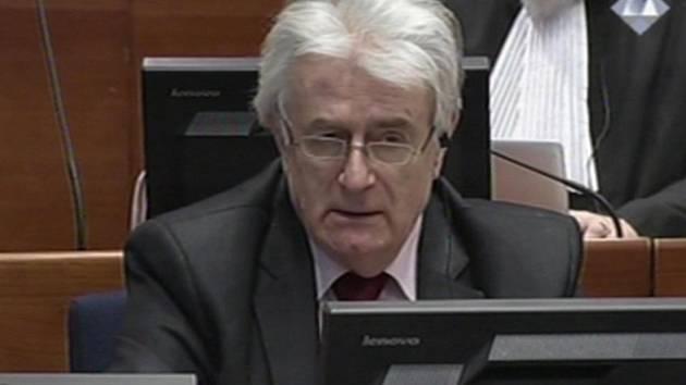 Bývalý politický vůdce bosenských Srbů Radovan Karadžić.