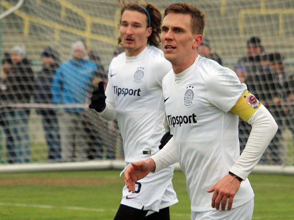 Přípravný zápas: Sparta - Ústí nad Labem 1:0 (0:0) 68. SáčekBořek Dočkal opět v dresu Sparty