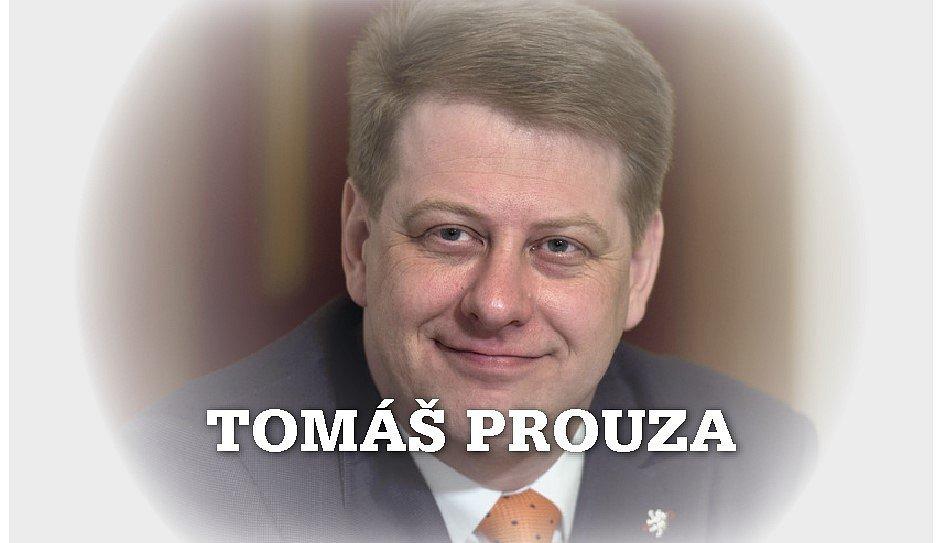 Šéf Svazu obchodu a cestovního ruchu Tomáš Prouza