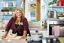 RADY A RECEPTY. Moderátorka a herečka Halina Pawlowská se představí v netradiční roli kuchařky.