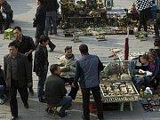 Výjev z ujgurské metropole