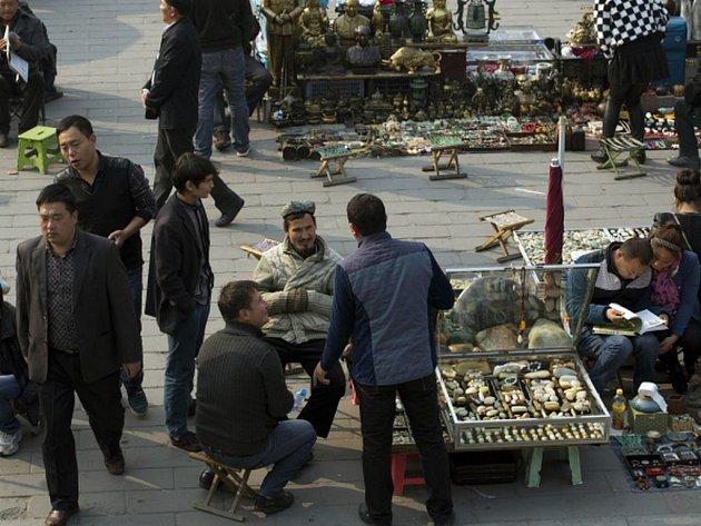 Čínský vládní list Global Times dnes obvinil Turecko, že pomáhá etnickým Ujgurům dostat se z Číny. Ilustrační foto.