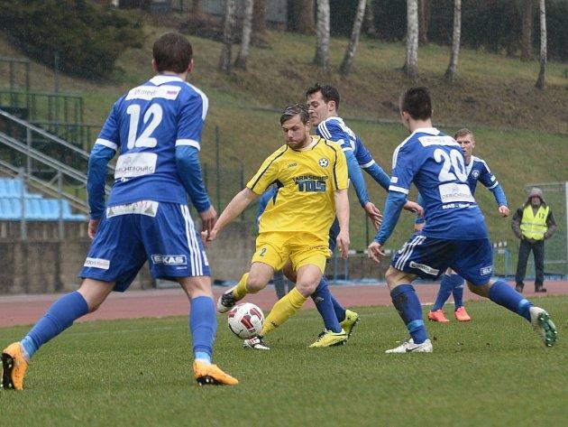 Varnsdorf porazil Kolín
