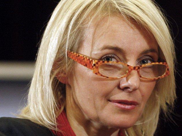 Herečka Veronika Žilková.